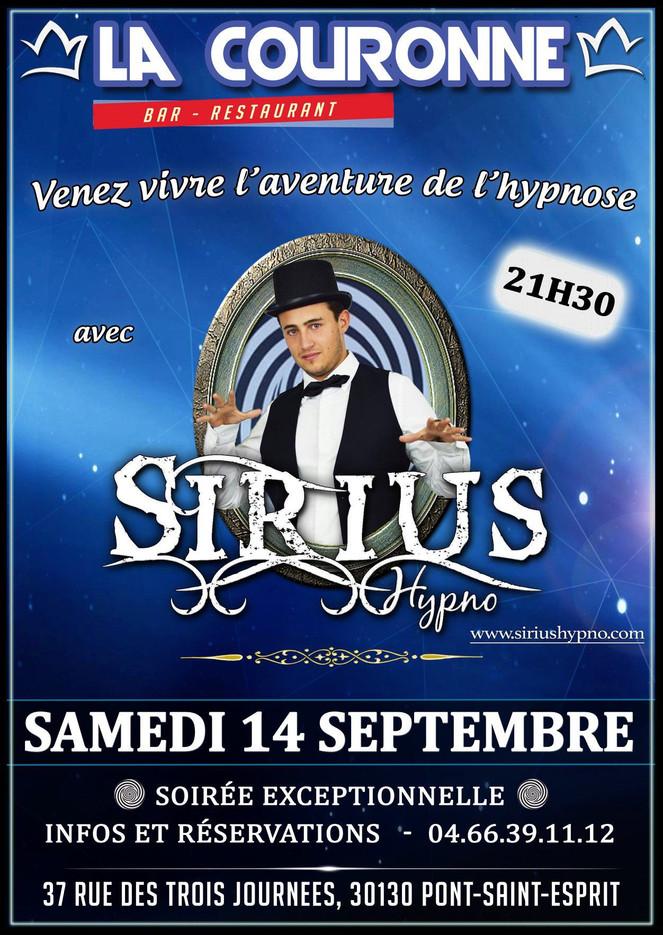 Hypnose au Bar Restaurant La Couronne de Pont-Saint-Esprit (30) !