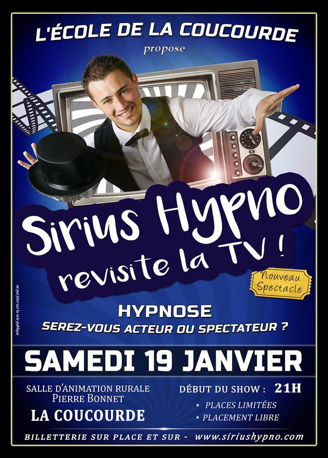 RDV à La Coucourde (26) pour le premier spectacle de l'année !