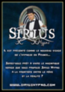 Sirius Hypno hypnotiseur de spectacle France Drôme Ardèche spectacle Hypnoe