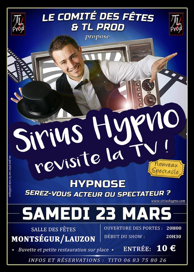Montségur-sur-Lauzon bientôt sous hypnose !