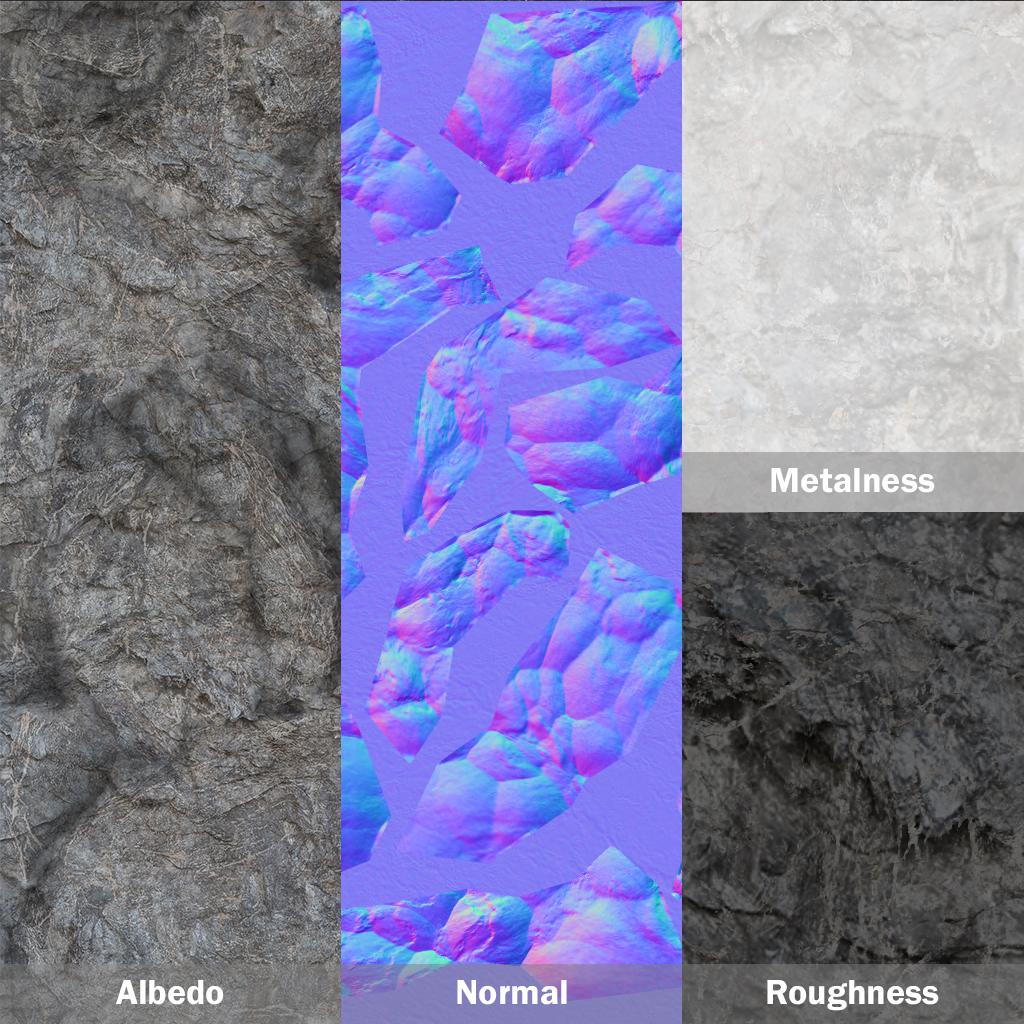 Breakdown de texture