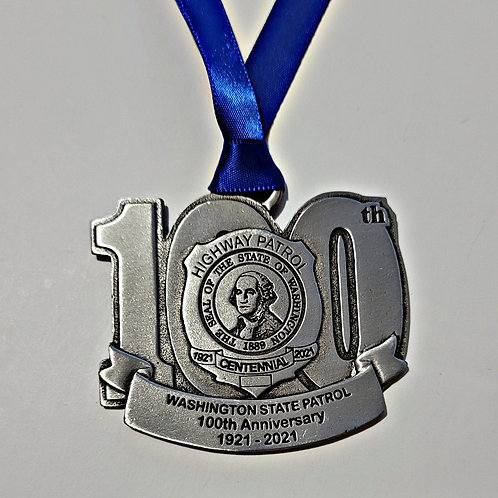 Pewter 100th Anniversary Ornament