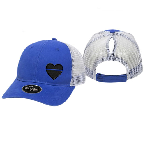 Women's Thin Line Ponytail Hat