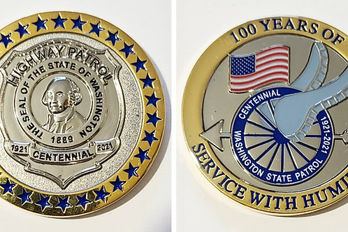 100th Anniversary Challenge Coin
