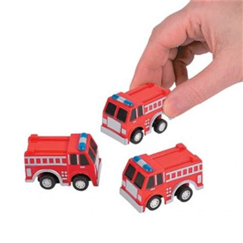 Pull Back Firetruck