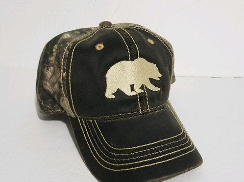 Camo Bear Hat
