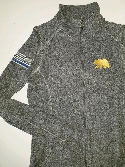 Women's Full Zip Bear Fleece