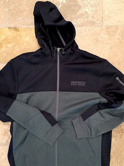 Black & Grey Zip Jacket