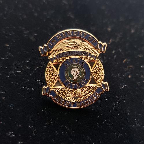 Hanger Memorial Pin
