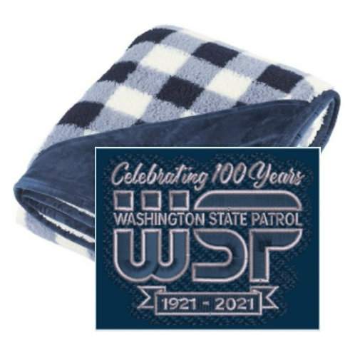 100th Anniversary Sherpa Blanket