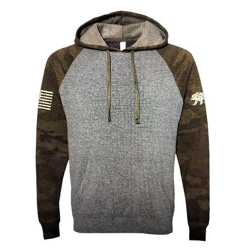 Camo Bear Hooded Sweatshirt