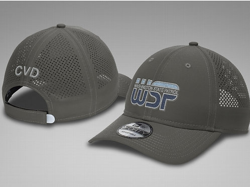 Grey mesh CVD hat