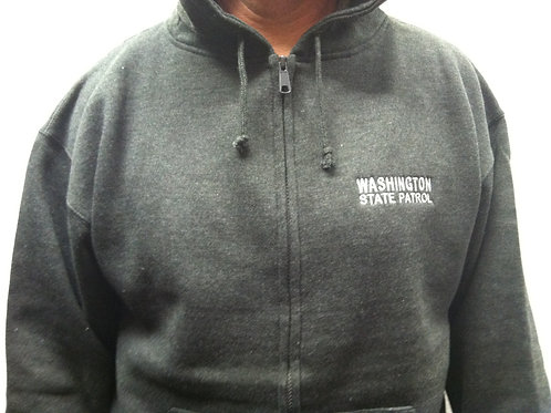 Grey Full Zip Sweatshirt