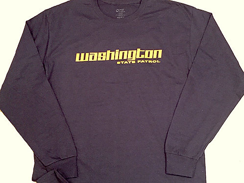 Navy Long Sleeve w/ Gold Wording