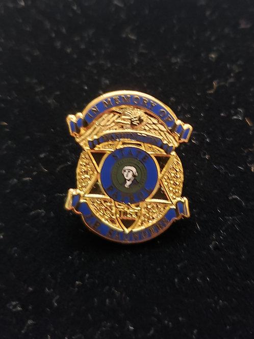 Saunders Memorial Pin