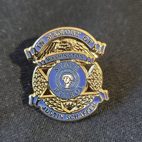 Schaffer Memorial Pin