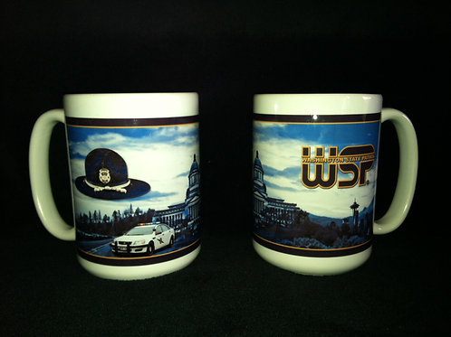 15oz White Mug