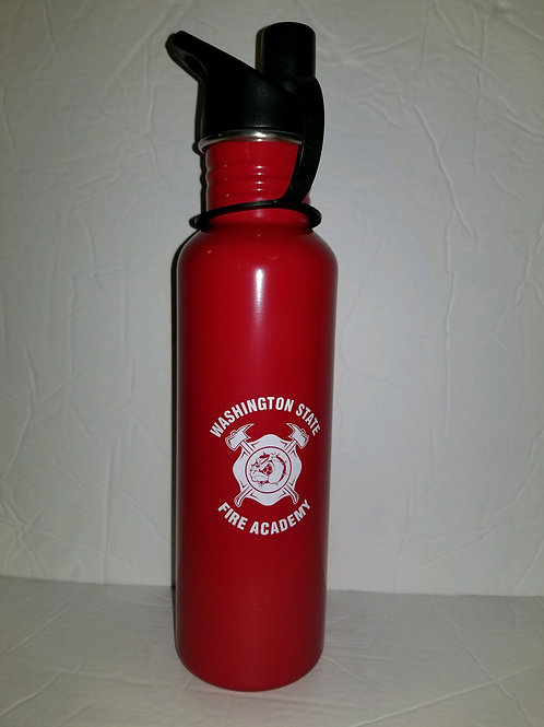 Stainless Fire Academy Water Bottle