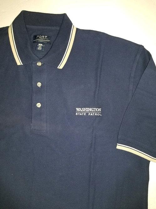 Navy & Khaki WSP Polo