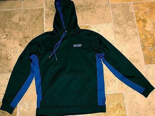 Black w/ Royal Blue Pullover