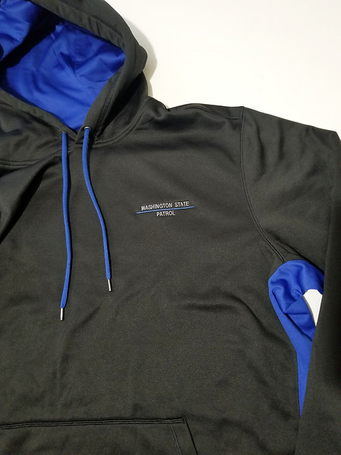 Black w/ Royal Blue Pullover