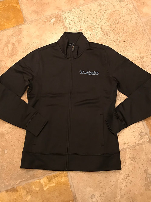 Women's Black Full Zip