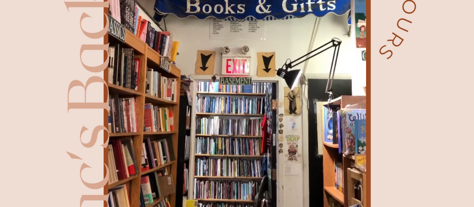 Local Bookshop Tours: Mac's Backs