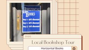 Local Bookshop Tours: Horizontal Books