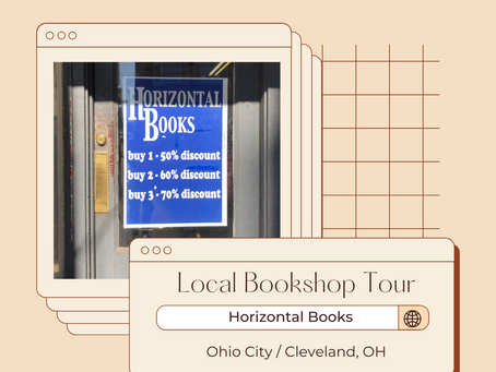 Local Bookshop Tours: Horizontal Books