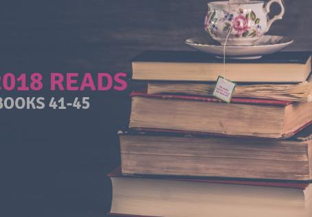 2018 Reads: Books 41-45