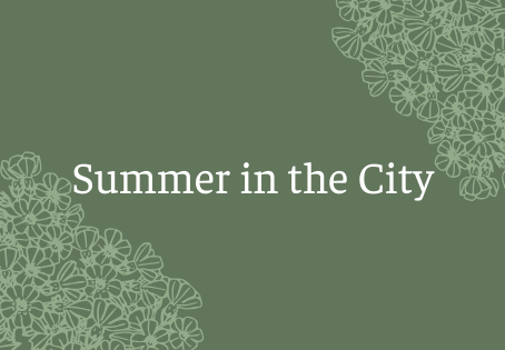 Summer in the City: Memorial Day Weekend