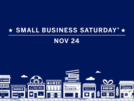 Shop 'Til You Drop on Small Business Saturday