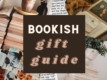 Bookish Gift Guide: 2020