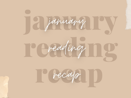 Two Sentence Reviews: January Reads