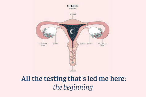 All the testing that's led me here: the beginning