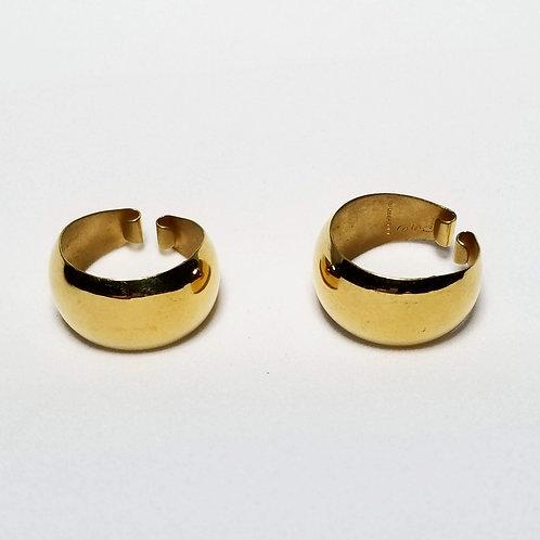Designer by BAB, earcuffs, gold filled