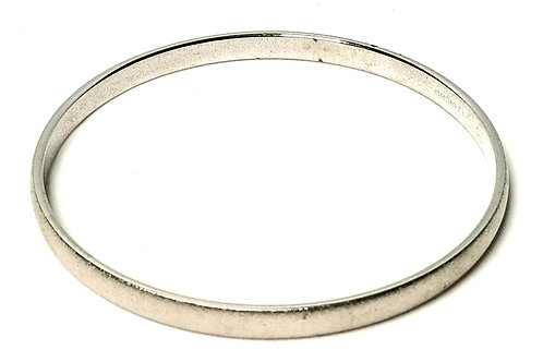Designer by Monet, bracelet, bangle, silver tone.