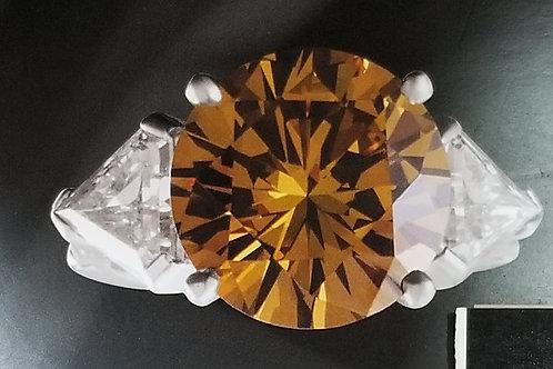 Natural Fancy Deep Yellow-Brown Diamond