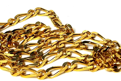 Designer by Monet, necklace, 36 inch gold tone chain links.