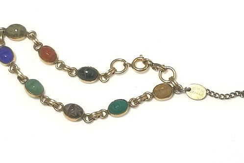 Designer by Monique, bracelet, multi-colored, 6 3/4 inches