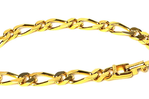 Designer by Monet, bracelet, chain links, gold tone 6 inches.