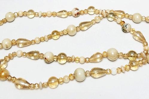 Designer by Murano, necklace, multi colored 36 inches.