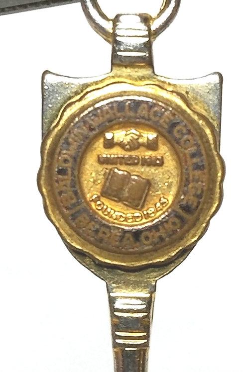 Designer by provenance, pendant/charm, Baldwin Wallace College, blue/gold tone.