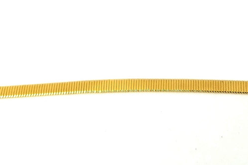Designer by Napier, bracelet, gold tone 7 inches.