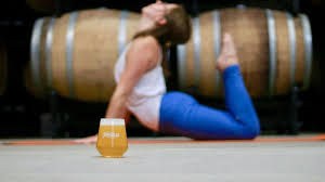 Beer Yoga @ The Trough