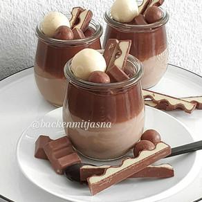 Kinderschokolade Pudding