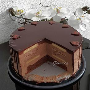 Nutella mousse  torta sa roladom