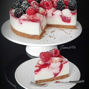 Jogurt malina torta