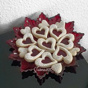Valentines day kekse