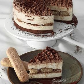 No Bake tiramisu torte
